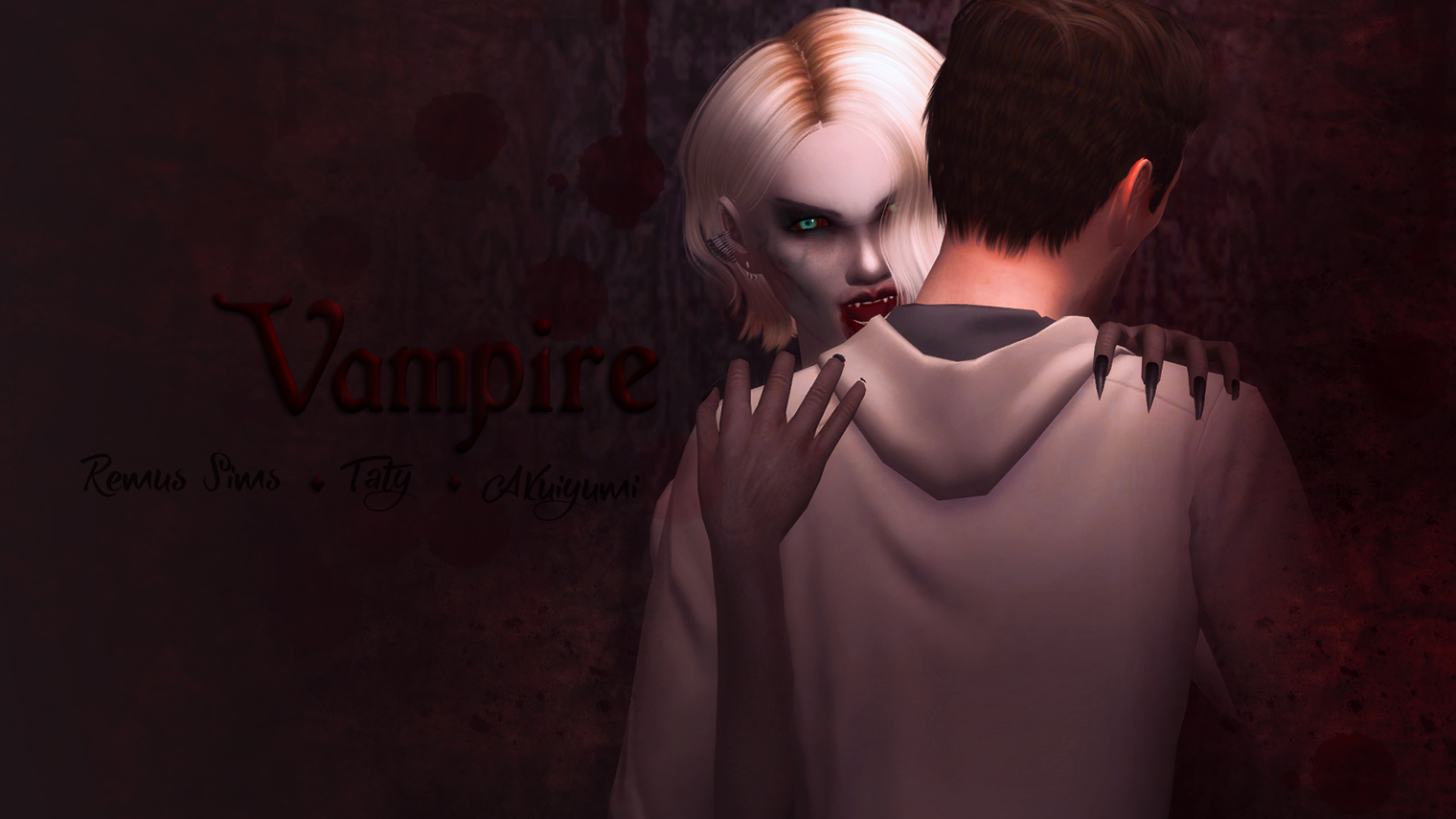 Vampire poses