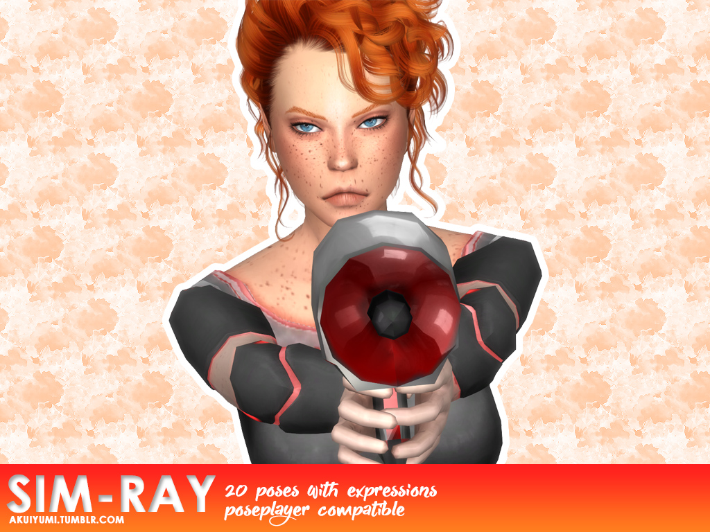 Sim-Ray poses + acc