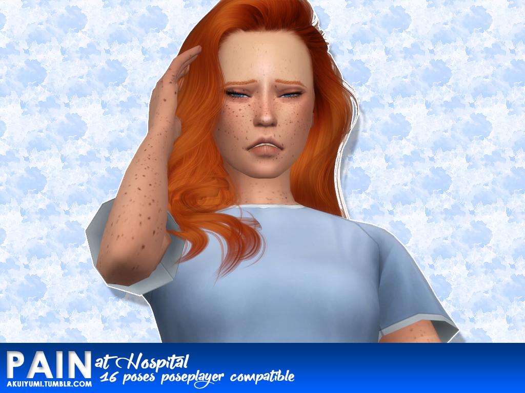 Pain poses (hospital)