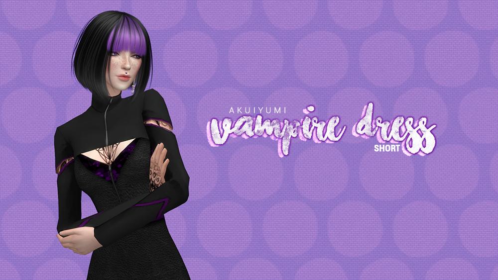 Vampire Dress short