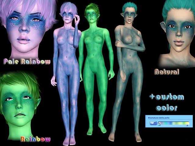 [Ts3] DragonScale Skin