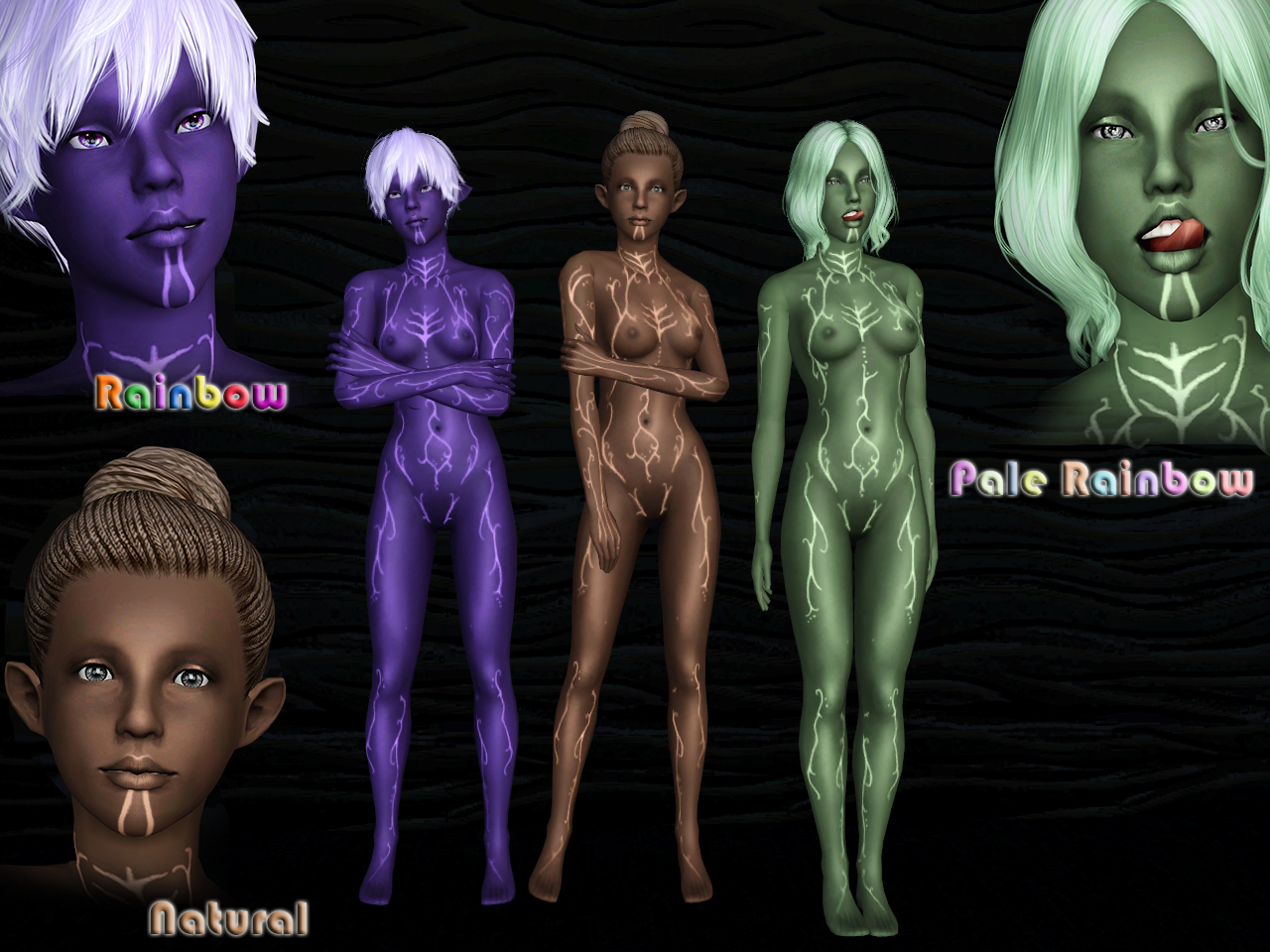 [Ts3] LightFenris Skin