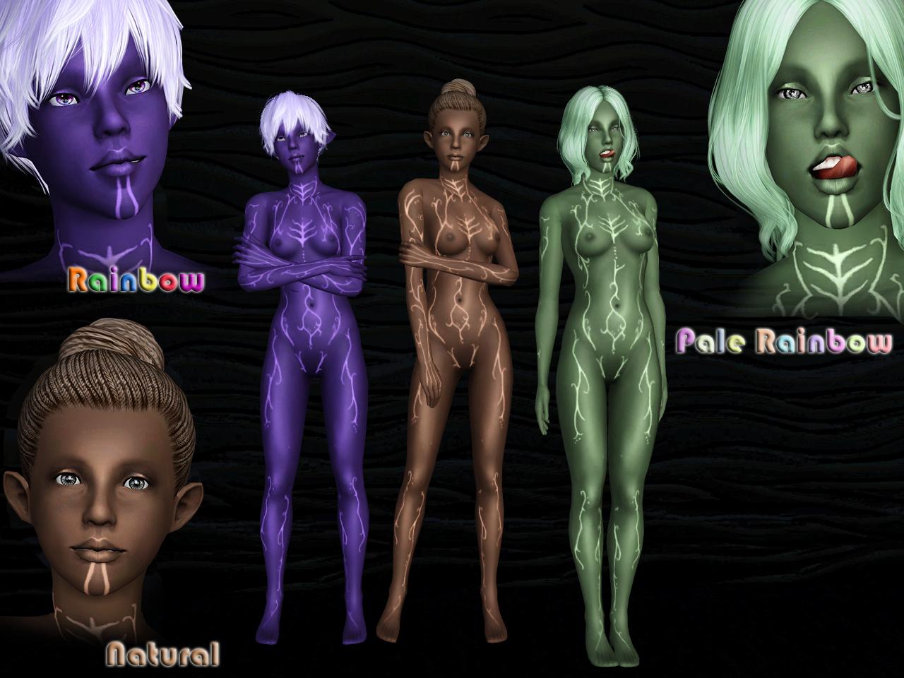 [Ts3] LightFenris Skin