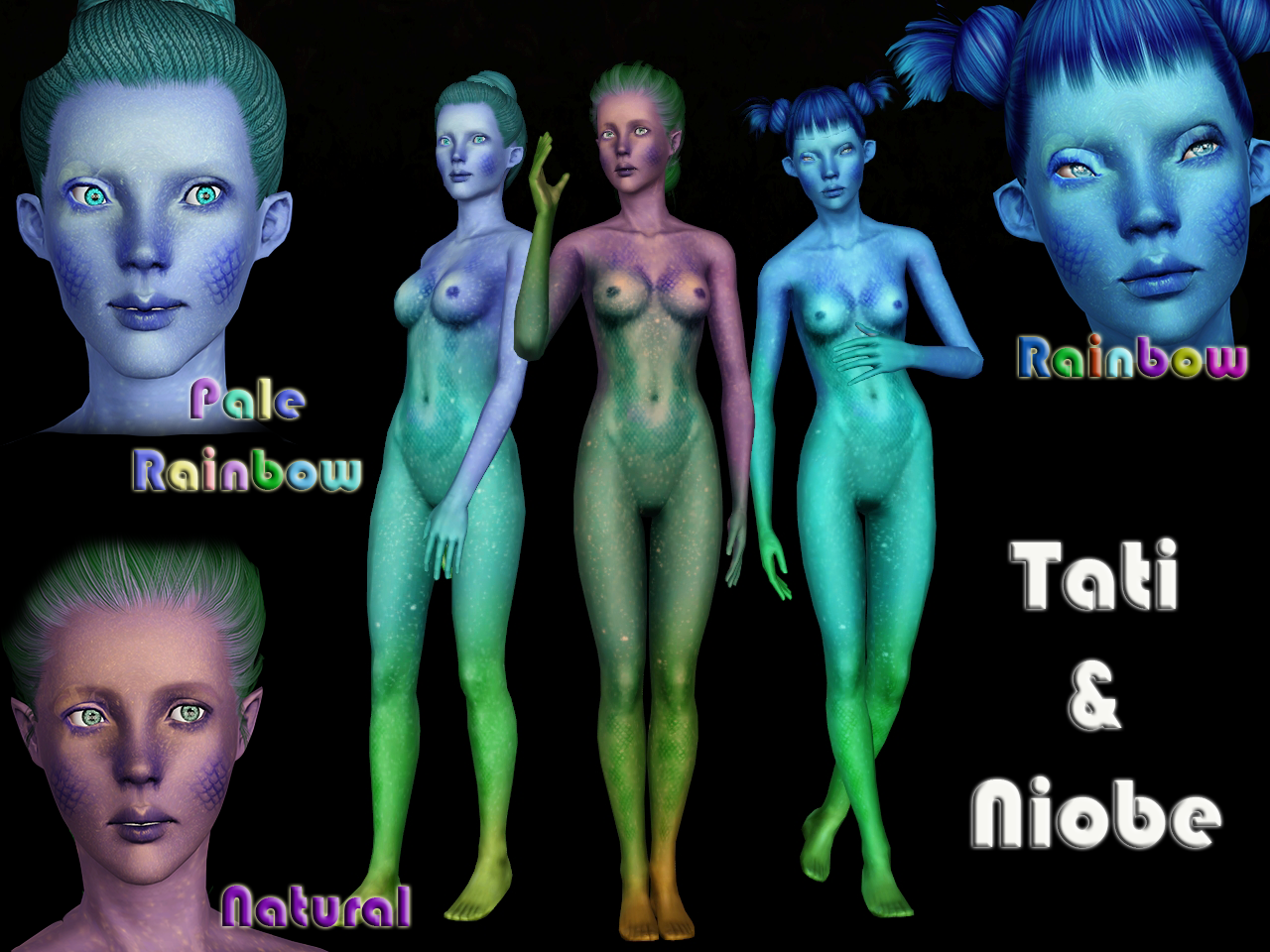 [Ts3] Mermaid Skin v.2