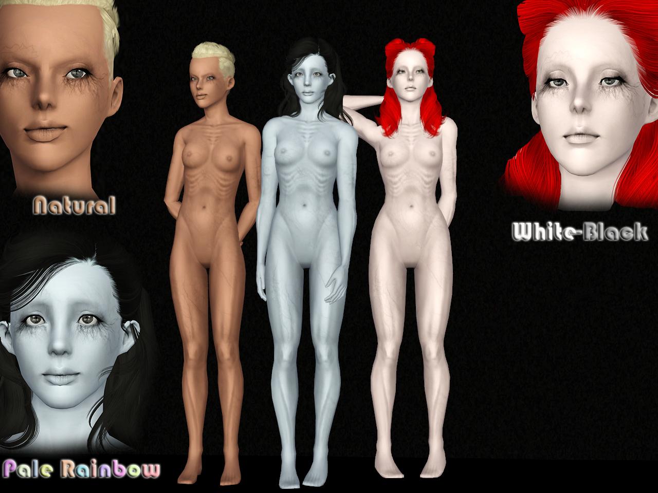 [Ts3] Ghost Skin v.1