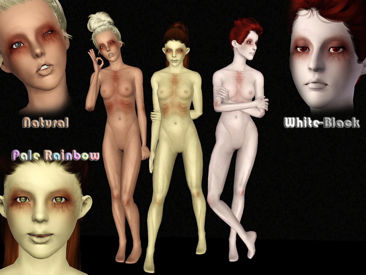[Ts3] Ghost Skin v.2