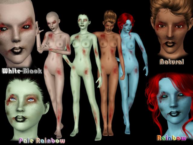 [Ts3] Halloween Skin