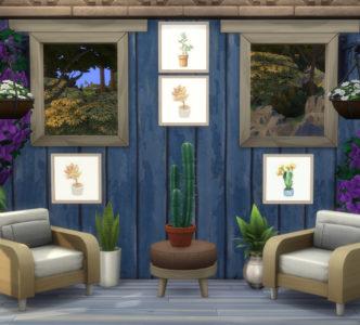 Cactus Painting 04