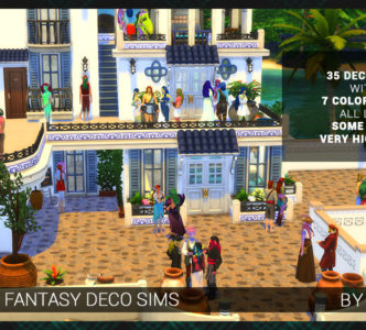 Fantasy Deco Sims: Mermaid