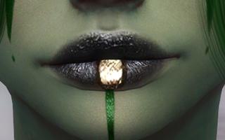 Lips Tattoo 02