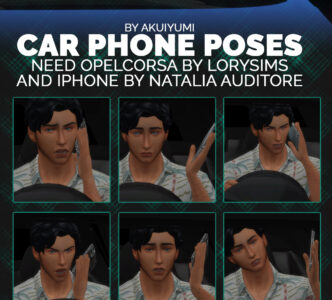 Car Poses (phone)