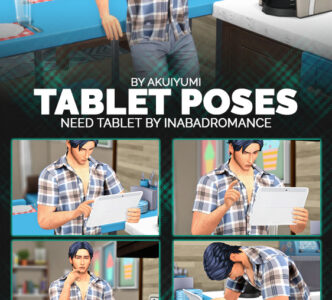 Tablet Poses