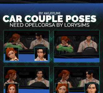 Car Poses: Couple