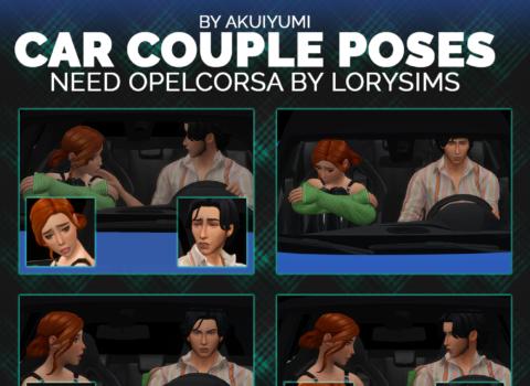 Car Poses: Couple