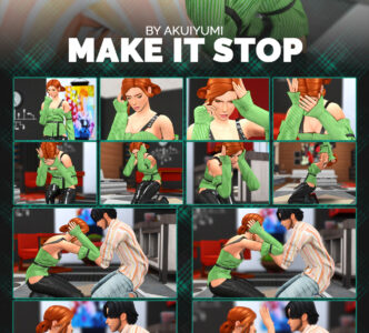 Make it stop poses