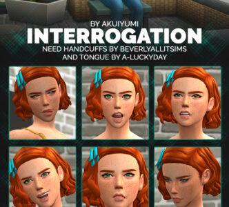 Interrogation poses