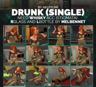 Drunk poses – couple