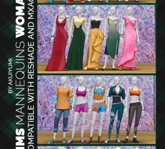 Deco Mannequins – woman version