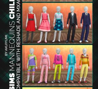 Deco Mannequins – child version