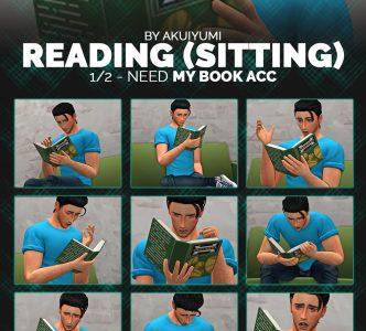 Reading (sitting) poses