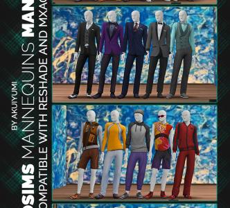 Deco Mannequins – man version