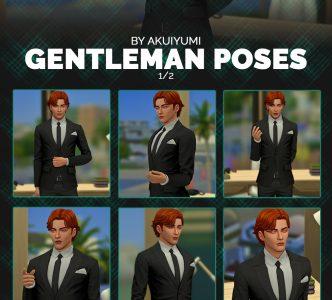 Gentleman poses