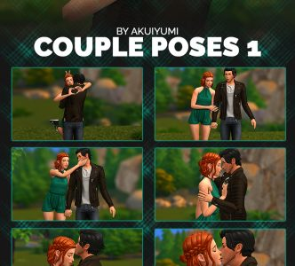 Couple poses #1