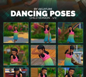 Dancing poses (child & toddlers)