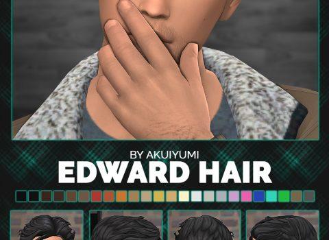 Edward hair