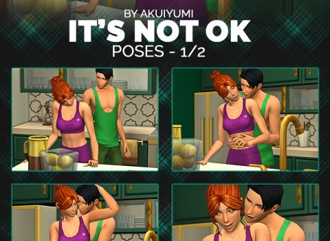 It's not ok poses