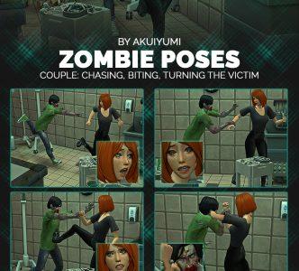 Halloween 2021: Zombie poses